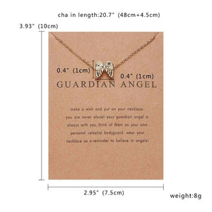 10 Styles Pendant Necklace Cat Ear Angel Wings Bird Animals Style