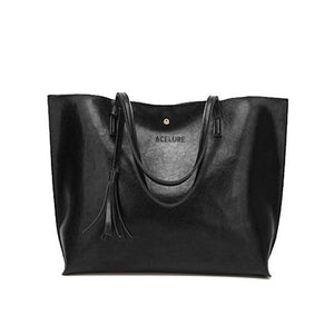 Luxury Leather Large Capacity Women's Hand Bag