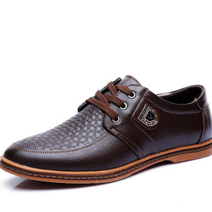 Leather Sports Casual Men's Shoe