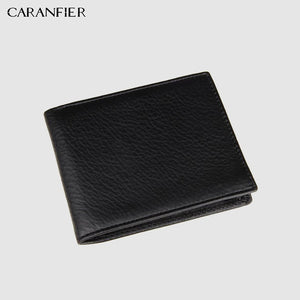 Bi-fold Genuine Leather Men's Wallet