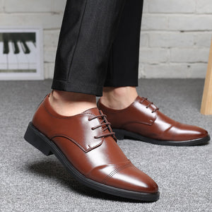 Luxury Formal Men's Oxford Leather Shoes