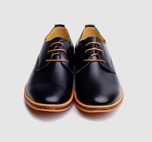 Leather Oxford Casual Men's Shoe