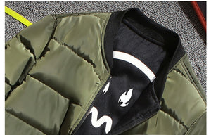 Thick Army Military Bomber Jacket