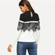 Lace Applique Autumn Casual Women T-shirt