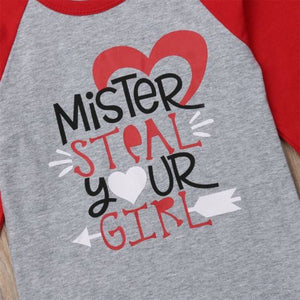 Printed Long Sleeve Tops for Kids Boys and Girls