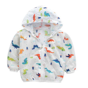 Dino Autumn Jacket for Baby Boys