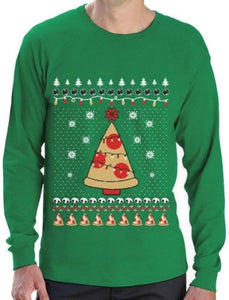 Ugly X-mas Sweater Pizza