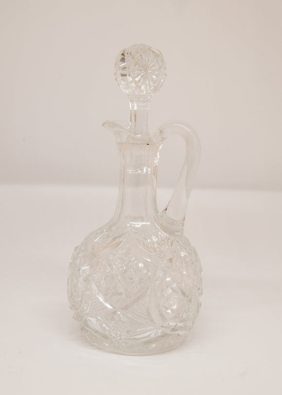 Small Accent Glass Bottle