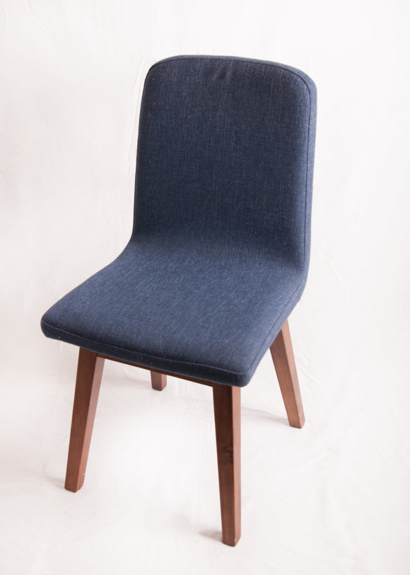 Indigo Blue Studded Small Chair
