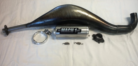 Mach-1 X-Pipe Exhaust (2 Bolt)