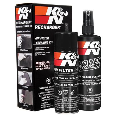 K&N Performance Air Filter Cleaner and Air Filter Oil