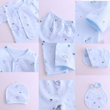 Load image into Gallery viewer, 6 Piece Cotton Printed Clothing Gift Set - 0-3 Months - BabySpace Shop