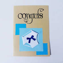 Load image into Gallery viewer, Congrats Handmade Card Collection - BabySpace Shop