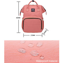 Load image into Gallery viewer, Waterproof Multi-function Maternity Diaper / Baby Bag - BabySpace Shop