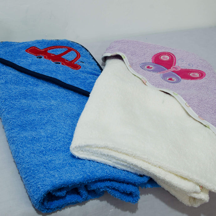 Hooded Baby Towel - BabySpace Shop
