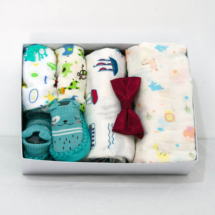 Hello Baby Small Pack with Baby Rompers - BabySpace Shop