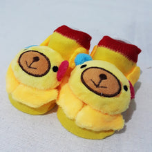 Load image into Gallery viewer, Anti Slip 3D Animal Head Baby Socks with Rubber Sole II