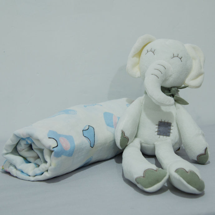 Elephant and Blanket - BabySpace Shop