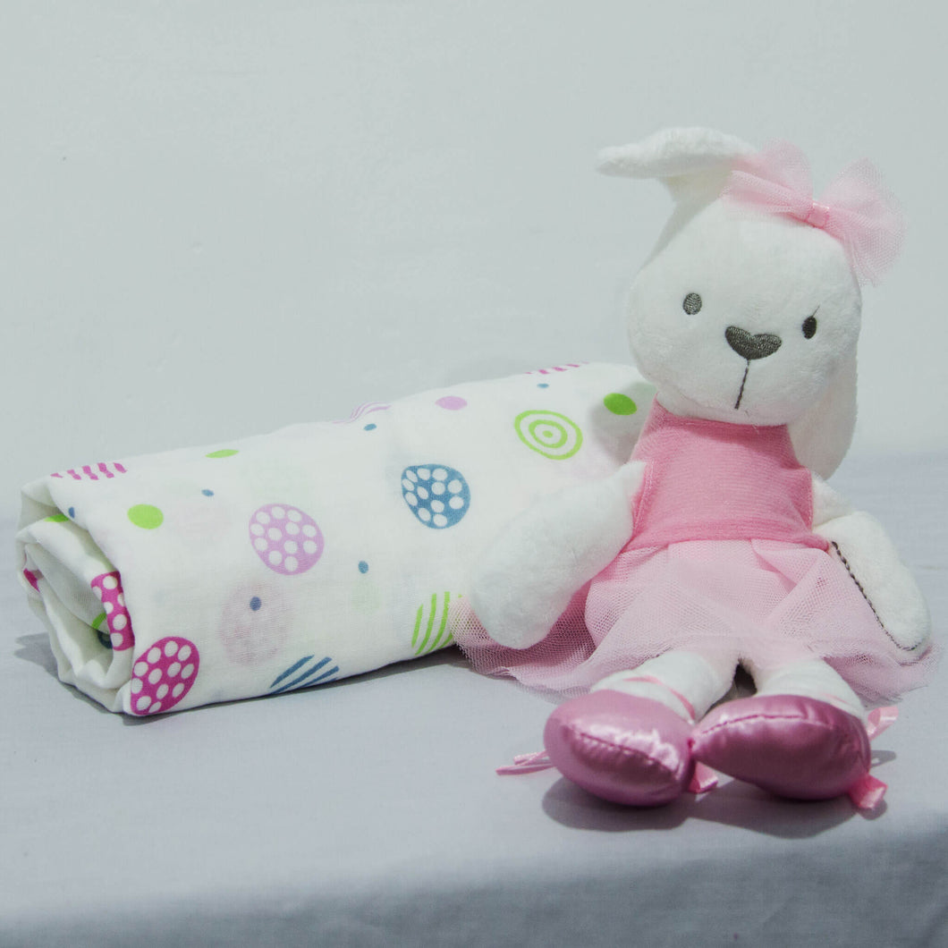 Ballerina Bunny and Blanket