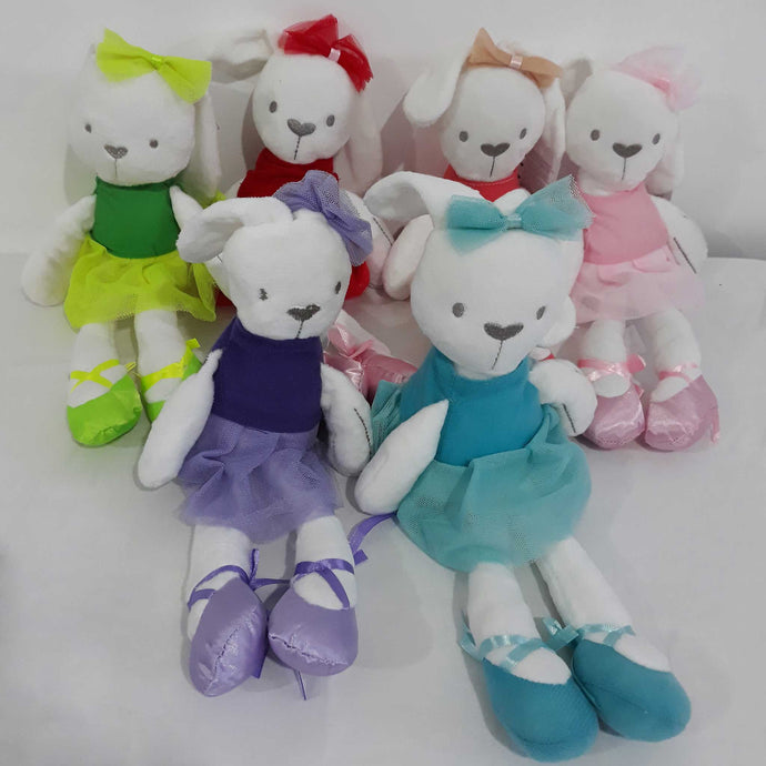 Ballerina Rabbit Stuffed Toy Collection - BabySpace Shop