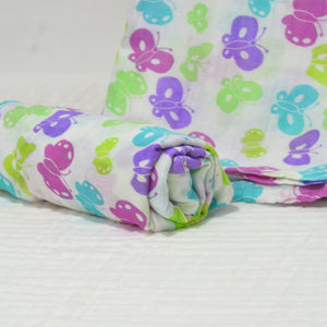 Muslin Swaddle Blankets - 70% Bamboo 105×125cm Collection II