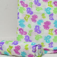 Load image into Gallery viewer, Muslin Swaddle Blankets - 70% Bamboo 105×125cm Collection II