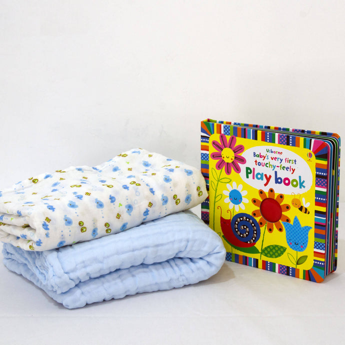 Blanket, Book and Towel - BabySpace Shop