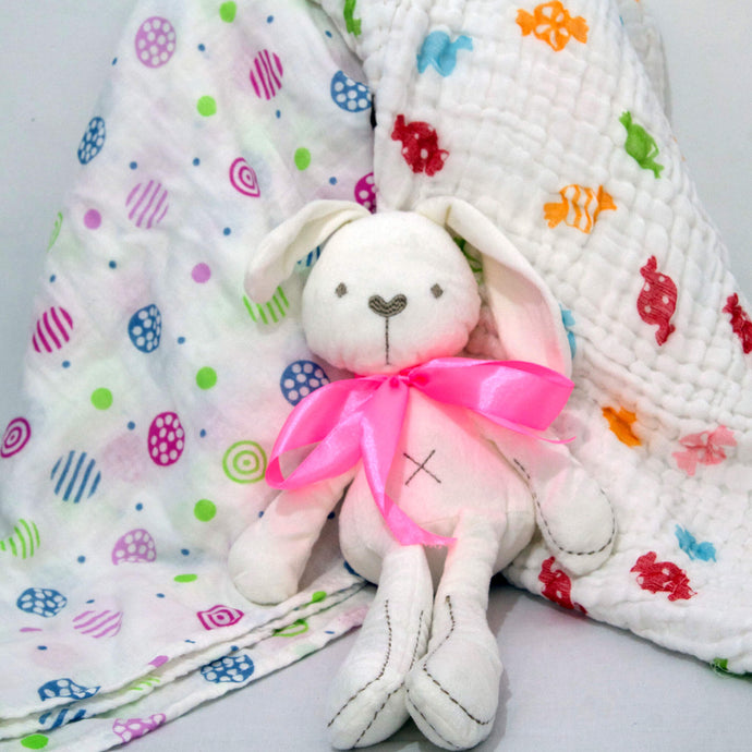 Bunny, Blanket and Towel - BabySpace Shop