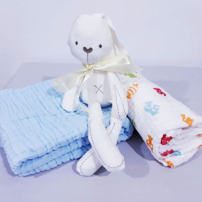 Bunny and Towels - BabySpace Shop