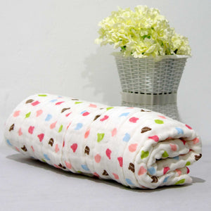 New Arrival - 6 Layered Printed Cotton Gauze Baby Blanket/Towel - BabySpace Shop
