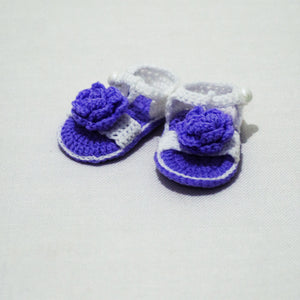 Handmade Crochet / Knitted Baby Shoes/Sandals - BabySpace Shop