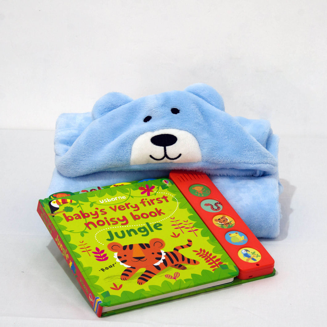 Blanket and Musical Book - BabySpace Shop