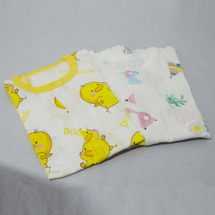 Cotton Printed Full Body Suit I - 0-18 months - BabySpace Shop