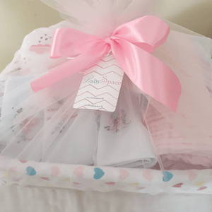 Gift wrapping - Cane Basket (With netted cover)