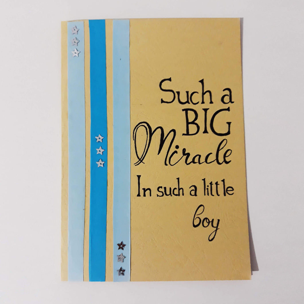Such a Miracle - Handmade Card Collection - BabySpace Shop