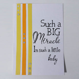 Such a Miracle - Handmade Card Collection
