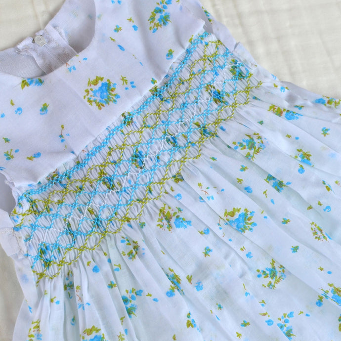 Handmade Smocked Dress Collection - 12 Months