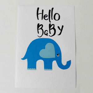 Hello Baby Handmade Card Collection - BabySpace Shop
