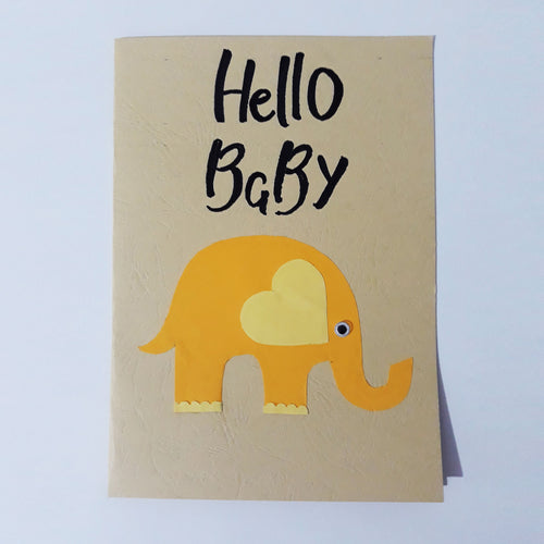 Hello Baby Handmade Card Collection
