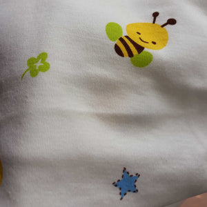 Printed Cotton Jersey Hooded Baby Blanket - BabySpace Shop