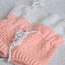 Load image into Gallery viewer, Knitted / Crochet Baby Romper - Newborn size