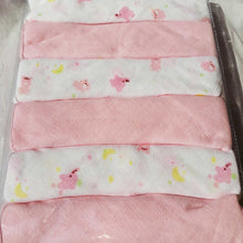 "Load image into Gallery viewer, Muslin Cloth Nappies 6 Pack Gift - 21"" x 21"" - BabySpace Shop"