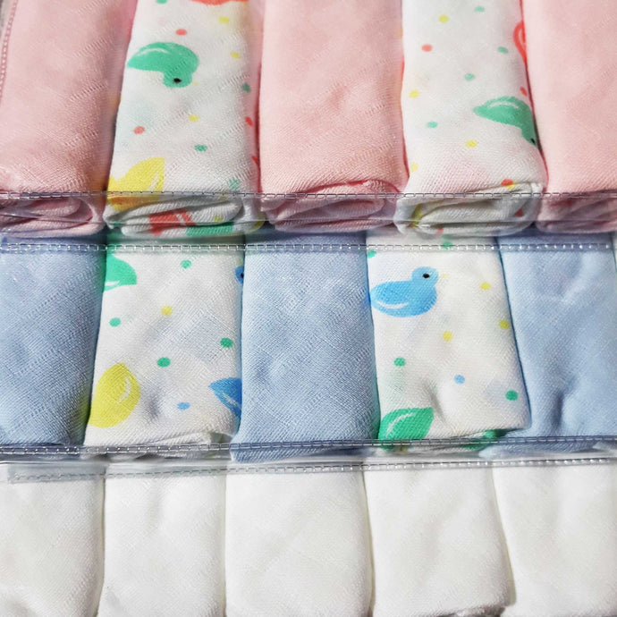 Muslin Cloth Nappies 6 Pack Gift - 21