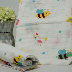 Muslin Swaddle Blankets - Square 110 x 120 cm Collection