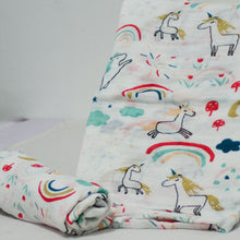 Load image into Gallery viewer, Muslin Swaddle Blankets - 70% Bamboo 110 x 120 cm Collection - BabySpace Shop
