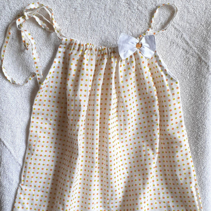 Dotted Pillowcase Dress - 12 months