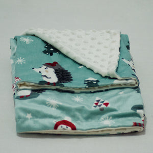Flannel Fleece Printed Baby Blanket - BabySpace Shop