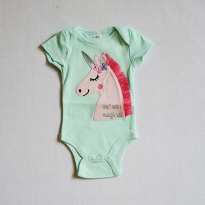 Short Sleeve Newborn Romper Collection - Up to 6 Months - BabySpace Shop