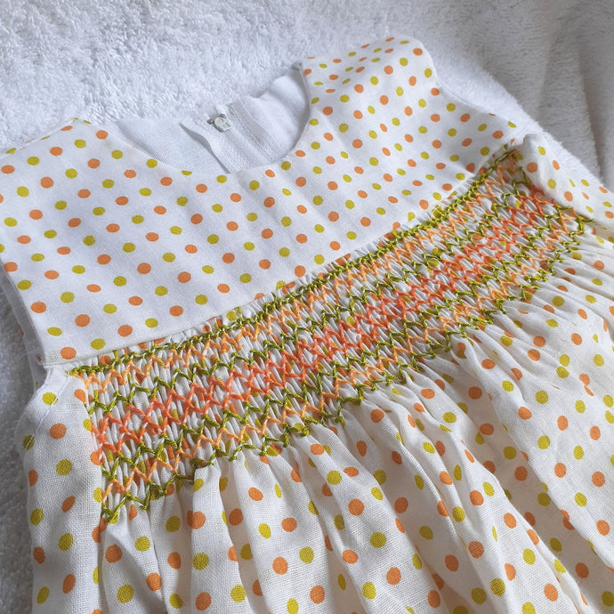 Handmade Smocked Dress Collection - 10-12 months