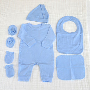 6 Piece Suit Set II - New Born Size Take Home Outfit